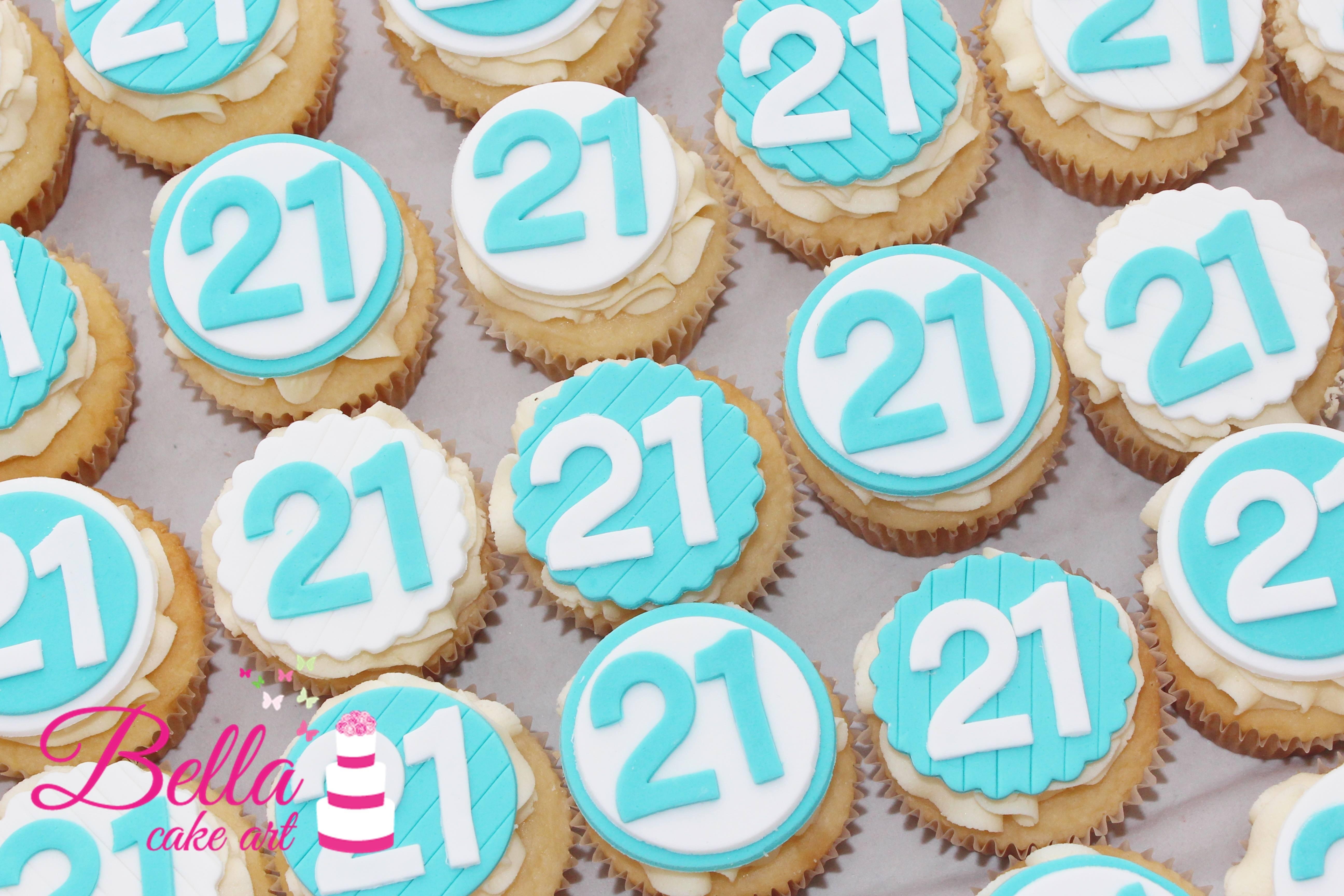 Birthday Age Cupcakes