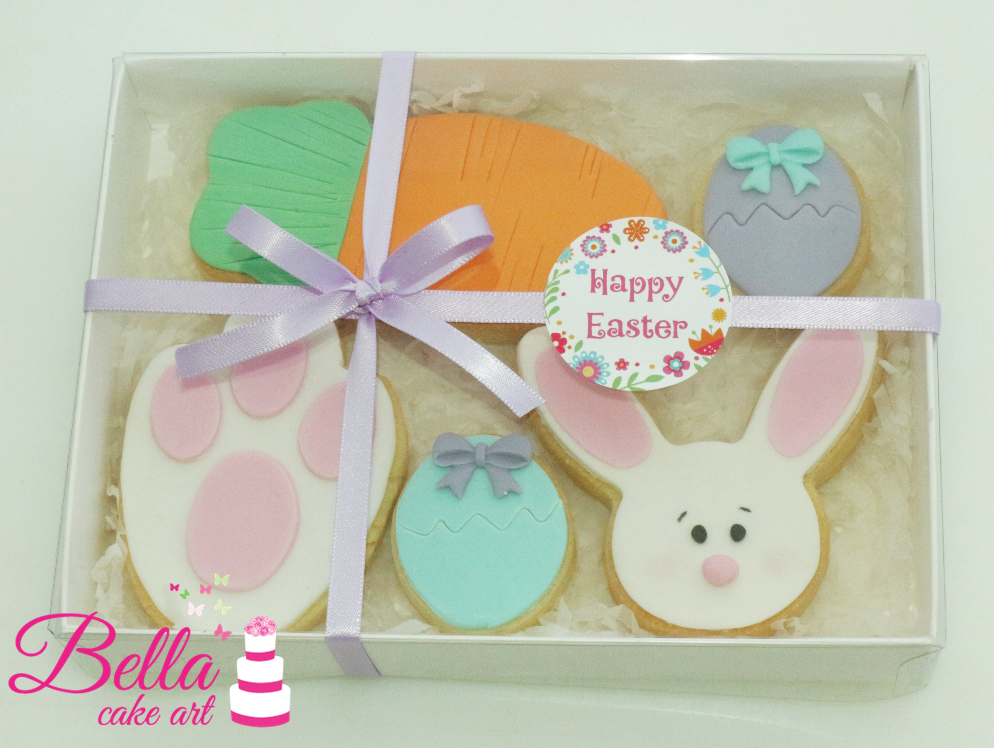 Easter bunny gift pack 5 cookies negle Image collections