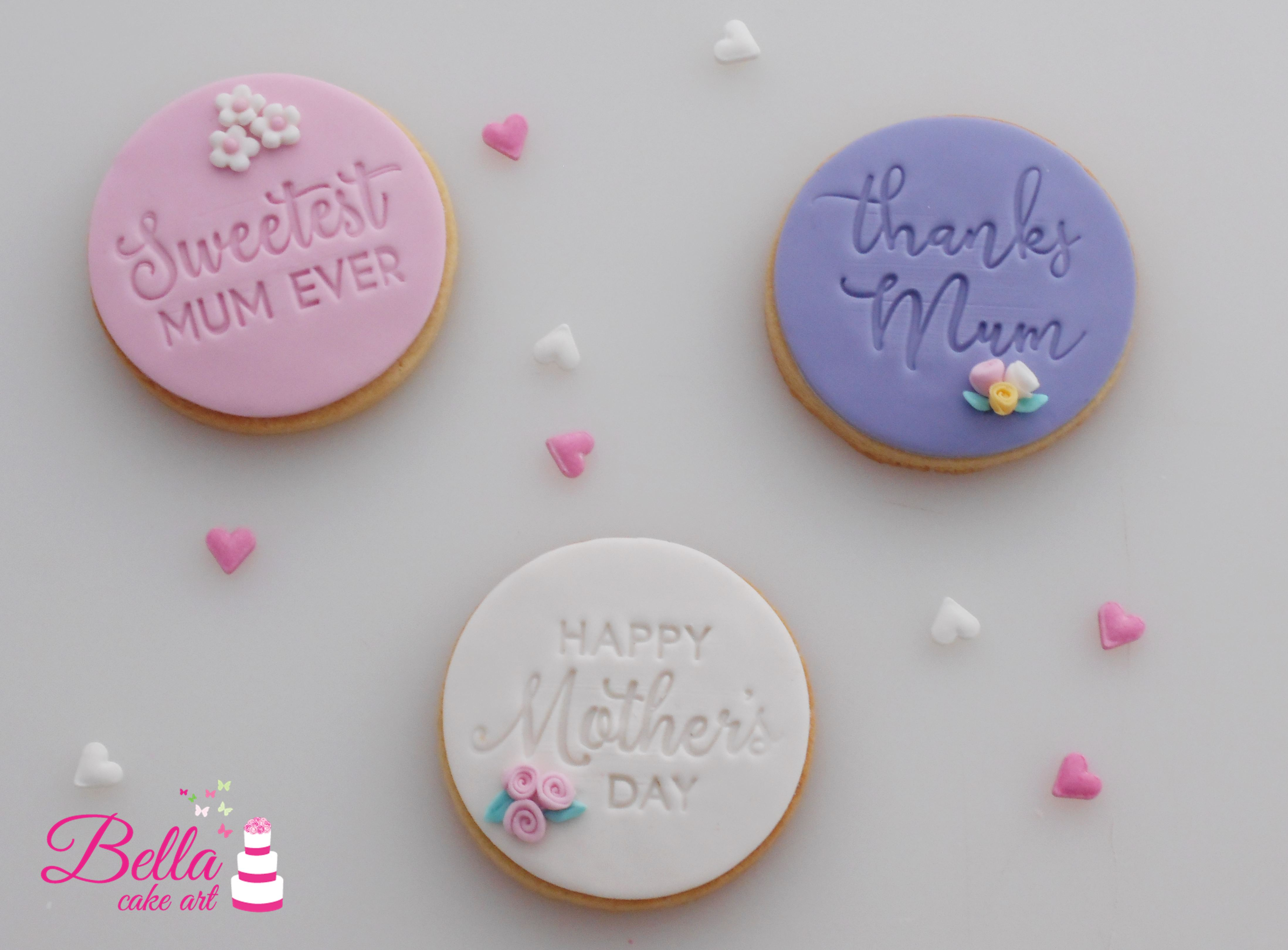Mothers Day Cookie Trio