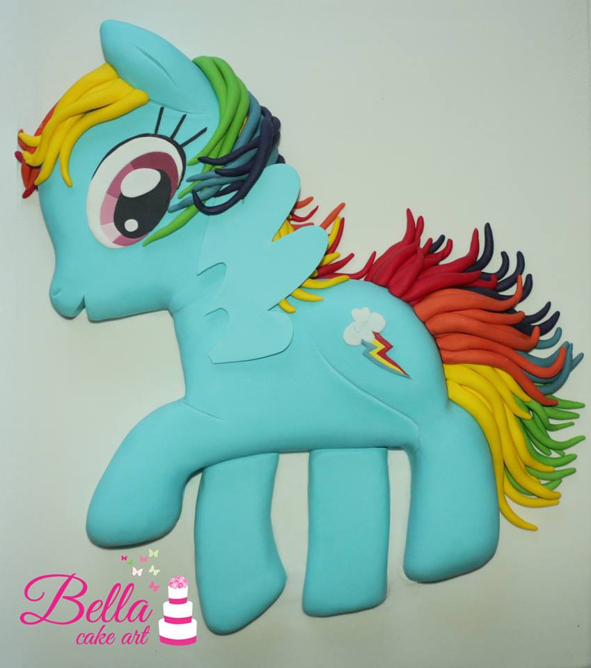 my little pony cake  bella cake art